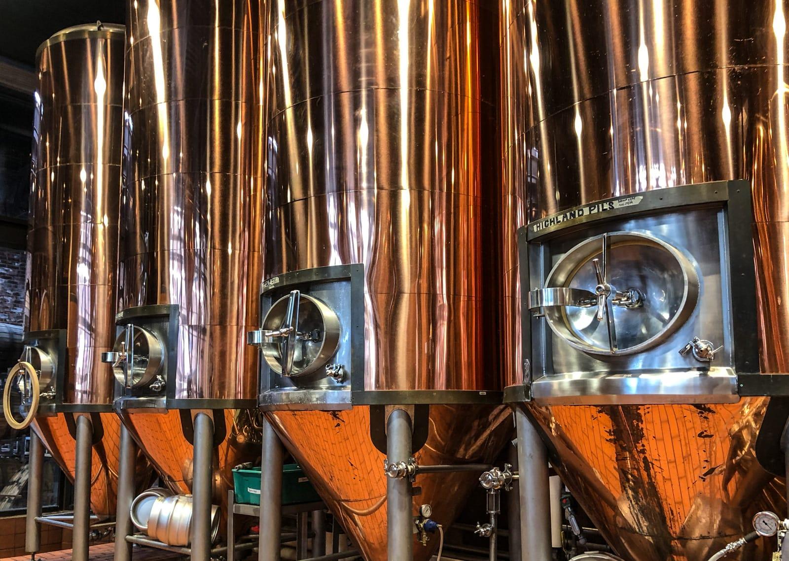Braukessel in der Alexander Keith's Brewery