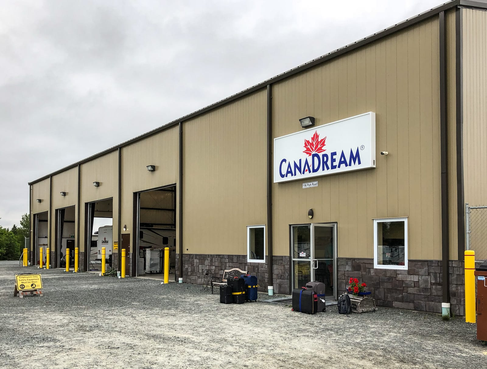 CanaDream-Station in Halifax (Elmsdale)