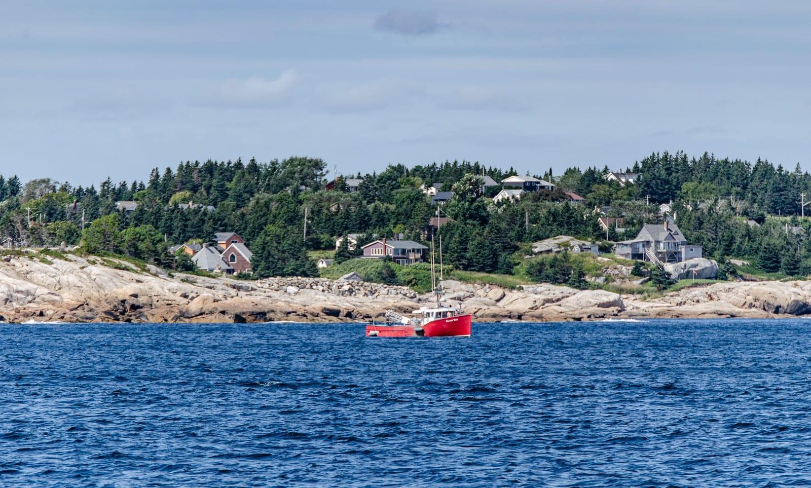 Küstenlinie südlich von Halifax