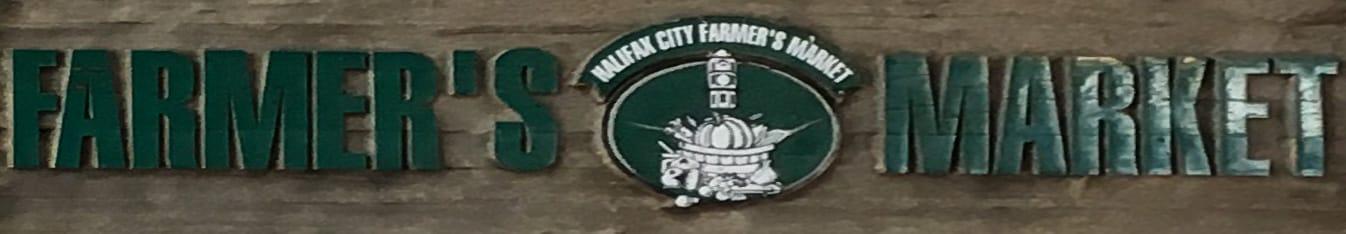Das Schild des Farmer's Market
